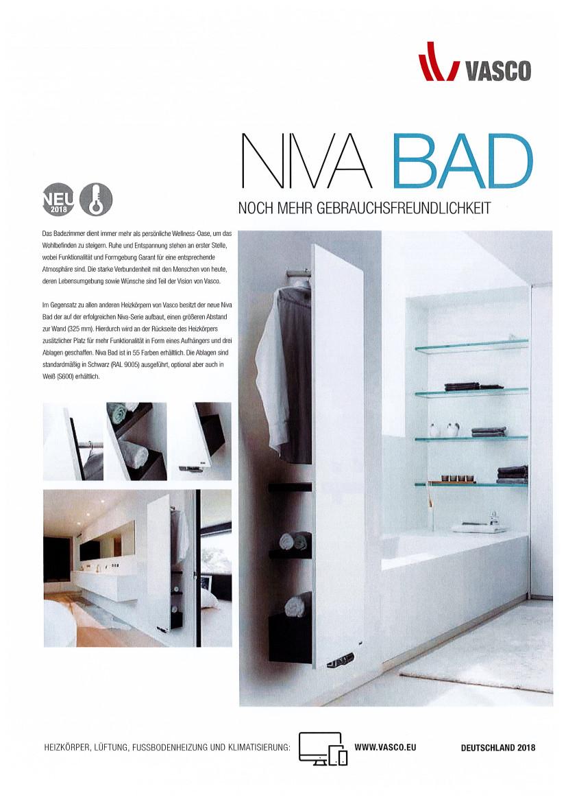 Vasco: Designheizkörper, Garderobe und Ablage